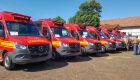 Corpo de Bombeiros contará com reforço de mais sete viaturas