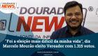 ''Foi a eleição mais difícil da minha vida'', diz vereador eleito Marcelo Mourão