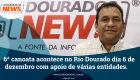 6ª canoata acontece no Rio Dourado dia 6 de dezembro com apoio de várias entidades