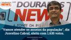 ''Vamos atender os anseios da população'', diz Juscelino Cabral, eleito com 1.635 votos.