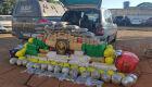 Veículo é apreendido seguindo para Dourados com mais de 600 kg de droga