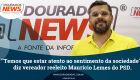 ''Temos que estar atento ao sentimento da sociedade'', diz vereador reeleito Maurício Lemes