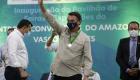 Bolsonaro inaugura etapa de centro de convenções em Manaus