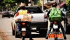 No dia do motociclista, Agetran inicia campanha com foco nos moto entregadores