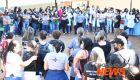 Servidores da Saúde se reúnem no CAM em protesto por melhorias