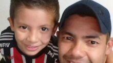 Papai Leandro e Miguel