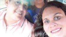 Papai Júlio, Yasmin e Suzi. Amor maior não há! Incondicional!