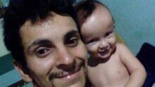 Pai Cláudio Chaparro filho Benjamin Martins Chaparro Lima