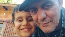 Pai Silvano e filho Gael