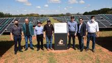 Inauguração da maior Usina Fotovoltaica Privada de Energia Solar de Mato Grosso do Sul