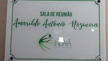 Clube indaiá homenageia Amarildo Antonio Nogueira