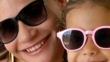 Mãe ADRIANA BRITO DE ANDRADE e a filha Julia Brito Trindade