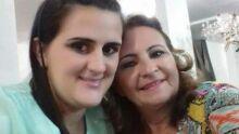 Eu, Luciana Barbosa e minha mãe Darcy de Souza