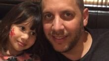 Valdinei e minha filhota aqui em SP