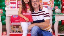 Papai Erivaldo e sua filha Sarah!