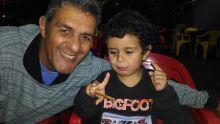 Gael e papai Silvano...