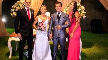 Eduardo, Patrícia, Marçal Filho e Vanessa