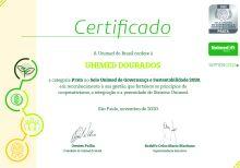 Unimed Dourados é certificada com o Selo Unimed de Governança e Sustentabilidade 2020