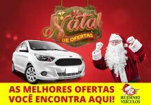 Natal de ofertas da Rudinei Veículos