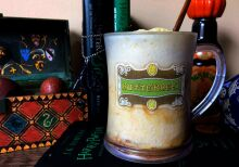 Cerveja amanteigada do Harry Potter
