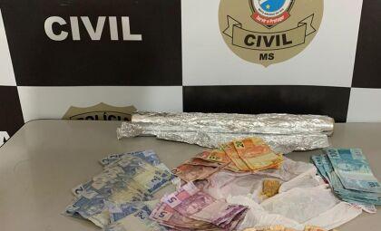 Polícia Civil fecha movimentado ponto de venda de entorpecentes