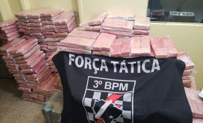 Carga de maconha avaliada em R$ 2 milhões é apreendida em Dourados