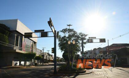 Previsão indica dia de sol e máxima de 30°C em Dourados