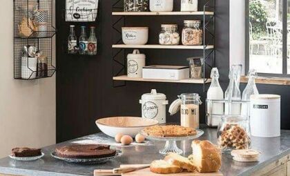 Inspiração: como usar Quadro Negro na cozinha