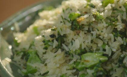 Veja essa receita deliciosa de arroz de brócolis