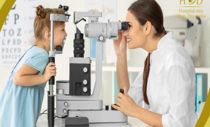 Hospital dos Olhos Dourados orienta sobre a importância do acompanhamento oftalmológico na infância