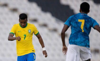 Seleção olímpica de futebol é superada por Cabo Verde em jogo preparatório