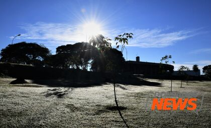 Sábado gelado tem mínima de 10ºC no início da manhã em Dourados