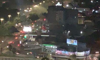 Churrascaria é atingida por incêndio na região central da Capital