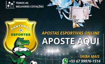 Sextou na Pantanal Esportes! Faça suas apostas online e fature até R$ 500 mil reais!