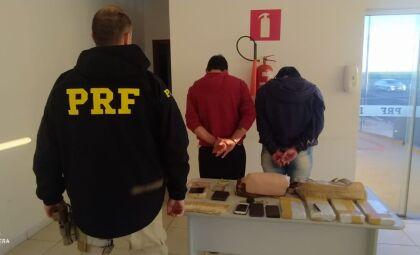 Estudante de medicina é preso com 4kg de cocaína na BR-163