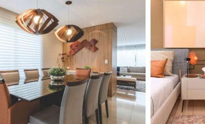 Design e aconchego: luminárias de madeira são opções perfeitas para o inverno