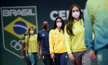 Time Brasil apresenta uniformes olímpicos a 50 dias de Tóquio 2020