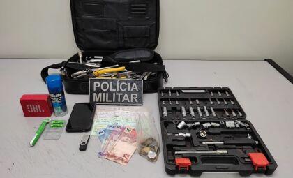 Após denúncia, homem é preso por furto de objetos em Naviraí