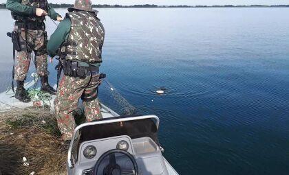 PMA autua três paulistas em R$ 1,5 mil por pesca ilegal no rio Paraná