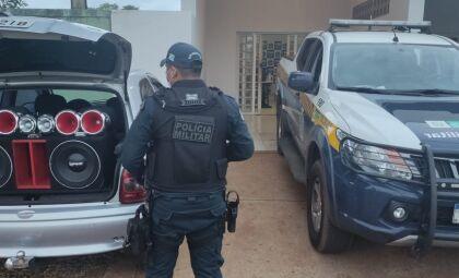Homem é preso por abusar de som alto em conveniência de Três Lagoas