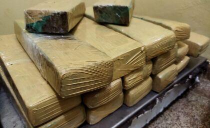 Moradora de Goiás é presa carregando drogas em ônibus na região de Dourados