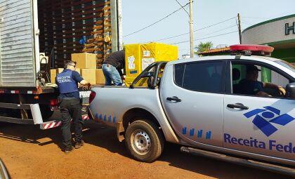 PF apreendeu R$ 1 milhão em mercadorias e prendeu quatro pessoas durante operação