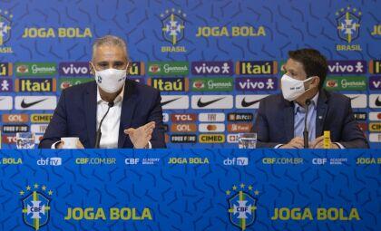 Tite convoca jogadores para jogos das Eliminatórias da Copa