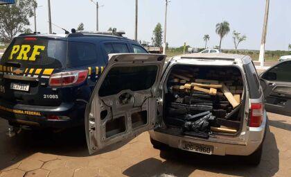 Polícia apreende quase 2 toneladas de maconha em cidade do interior de MS