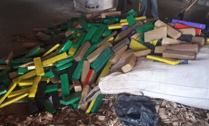 Polícia destrói 3,7 toneladas de drogas em Sete Quedas