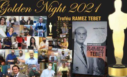 Troféu Golden Night 2021 homenageará 'in memoriam' o ex-senador Ramez Tebet em evento de Gala