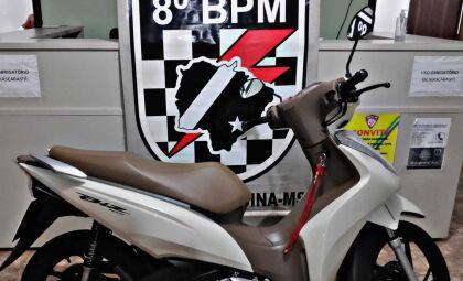 Menos de uma hora após furto de moto, dois são presos pelo crime