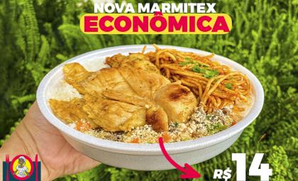 Novo lançamento da Comadre Maria: marmitex econômica. Conheça