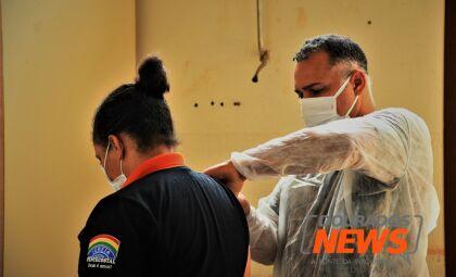 Vacinação contra a Covid-19 continua nesta quarta-feira em Dourados