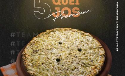 Mais duas novidades no cardápio da Universidade da Pizza!